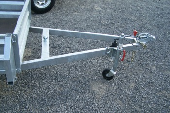 trailer bike bar mount