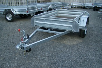 bike rack attachment for trailer