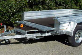electric tipping trailer nz