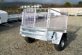 quad bike trailer with crate nz