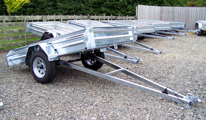 gravity tipper trailer levin