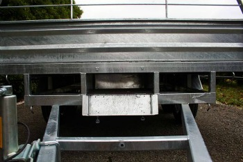 tandem trailer flat deck trayla trailers