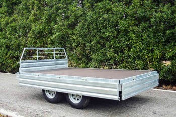 tandem trailer flat deck new zealand
