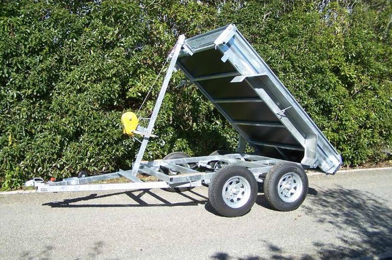 winch trailer levin