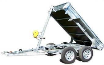 winch tipping trailer north island